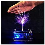 FHISD DIY Mini Music Tesla Coil Plasma Speaker Kit Set Modelo de Experimento de transmisión inalámbrica Bluetooth