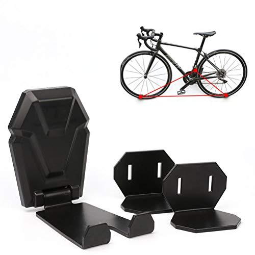 Soporte de pared para bicicletas, soporte de exhibición de bicicletas de acero, soporte de pared plegable para bicicletas, gancho de almacenamiento para bicicletas, soporte ideal para el hogar