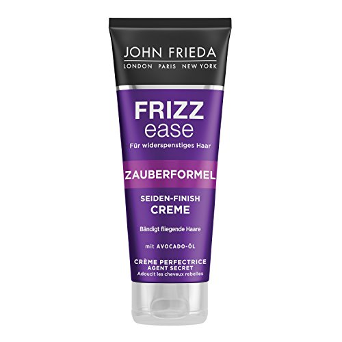 John Frieda Zauberformel Seiden-Finish Creme aus der Frizz Ease Serie - Mit Avocado-Öl - 100ml