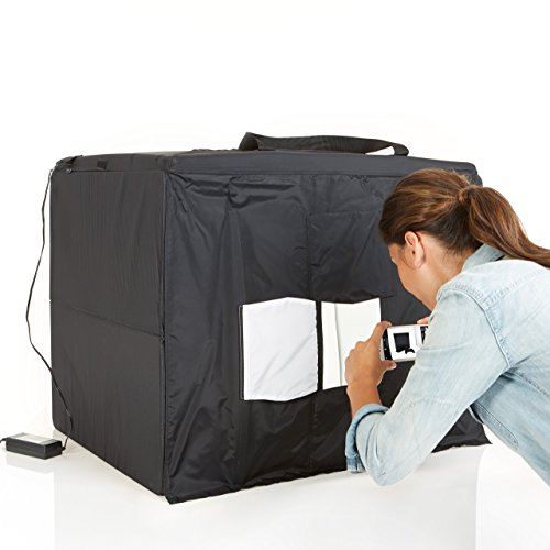 AmazonBasics Portable Foldable Photo Studio Box with LED Light - 25 x 30 x 25 Inches 8