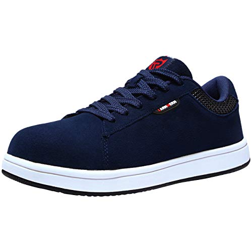 LARNMERN Zapatillas de Seguridad Hombres Mujer LM180105 SB Zapatos de Trabajo con Punta de...