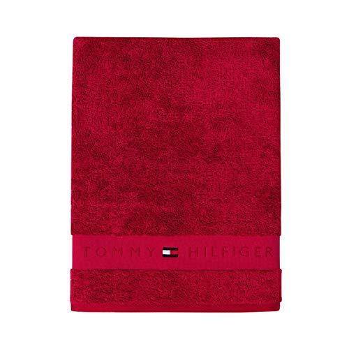 Tommy Hilfiger Handtücher Legend2 red Duschtuch 70x140 cm