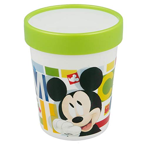 Stor Vase premium bicolore 250 ml – Mickey Mouse – Disney – Watercolors