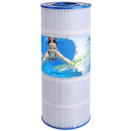 TOREAD Replacement for Pool Filter PA120, CX1200RE, C1200, Unicel C-8412, Filbur FC-1293, Waterway Clearwater II, Pro Clean 125, 817-0125N, Aladdin 22002, 120 sq.ft Filter Cartridge, 1 Pack
