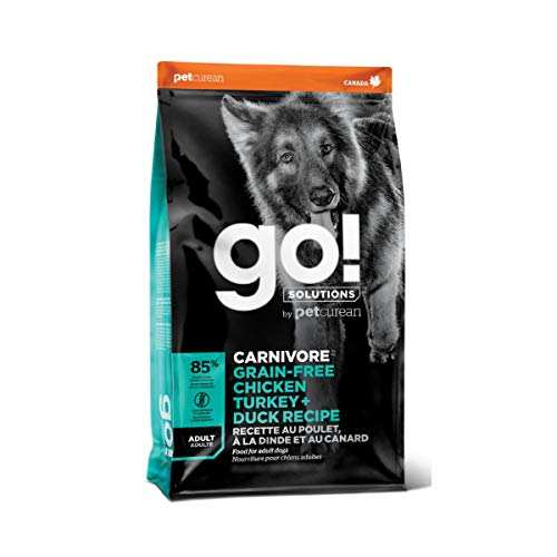 GO! SOLUTIONS Carnivore Grain Free Chicken, Turkey...