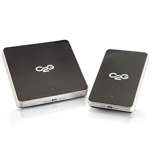 C2G Wireless HDMI Transmitter and Receiver, AV Receiver, Cables to Go 29329