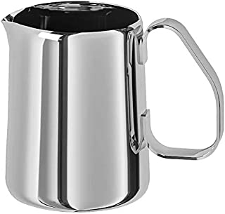 """Ikea Milk-Frothing jug, Stainless Steel, 0.5 l (17 oz), Height: 11 cm (4"""")"""