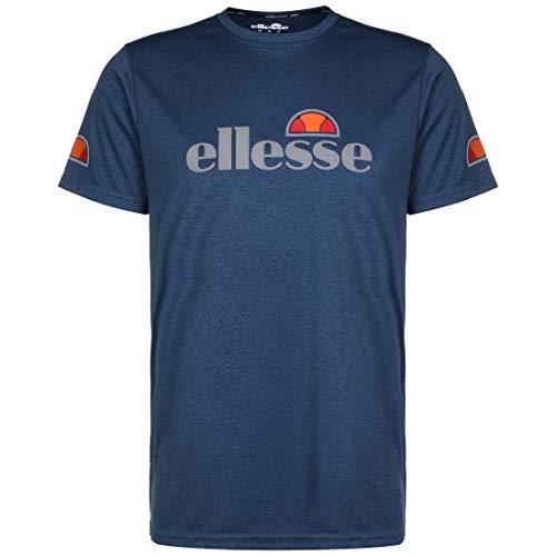 ellesse Herren Sammeti T-Shirt, Marineblau, Größe S