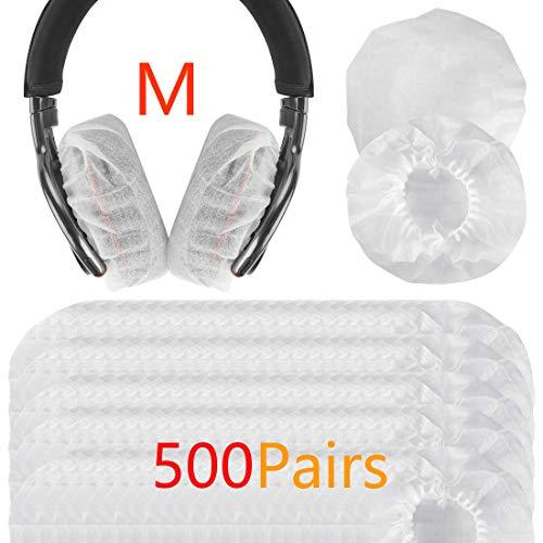 Geekria 500pairs Sanitario e Monouso Fodere Elastiche per Cuffie 3.14-4.33 inches Headset/Fits Sony WHCH710N, WHCH700N, WHXB900N, WH1000XM3, WH1000XM2