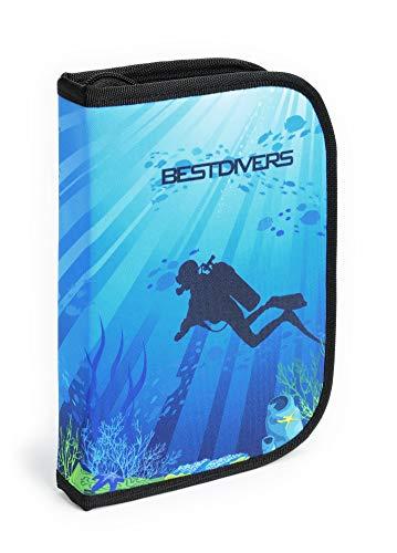 Best divers ai0443/Art4, suporto Dive Log Anillas, Modelo Buceo Unisex–Adulto, Negro, Talla única