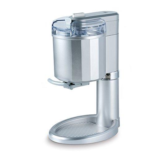 Para proporcionar 500 g delicioso helado en 25 minutos Fácil de usar y fácil de limpiar Capacidad: 1 L Dimensiones: 37,8 x 22,8 x 34,5 cm ( Ancho x Profundidad x Altura )