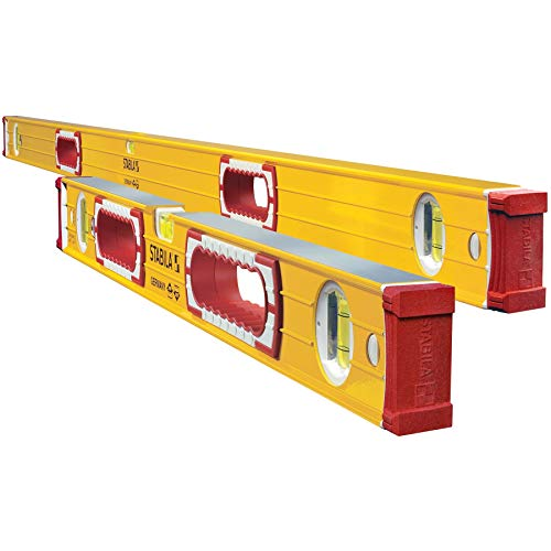 Stabila Remodeler Set 58'/32' (37832) Includes 58 Inch and 32 Inch Levels - Replaces Stabila 37524 Set