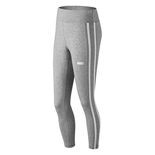 New Balance Damen-Trainingshose, Damen, Eng, Wp91521, Grau - Athletic Grey, X-Small