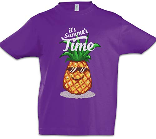 Urban Backwoods Pineapple Summer Time Kinder Jongens T-Shirt
