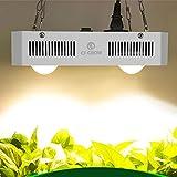 COB LED Grow Light Full Spectrum, CF Grow Citizen 3500k Lámpara de Cultivo LED Blanca 300W, excelente Sistema de enfriamiento para Plantas de Interior Que envían Veg Bloom Flower