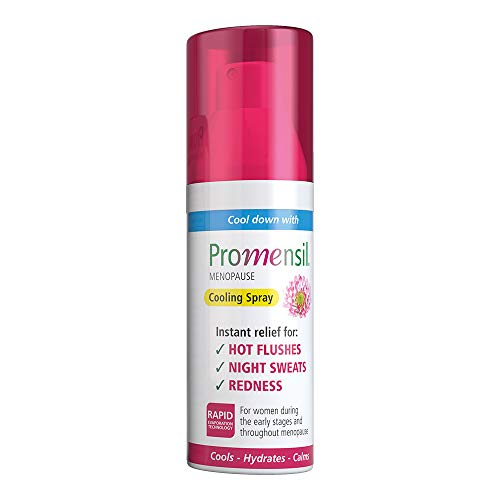 Promensil Menopause   Cooling Spray   Hot Flushes   Instant Relief   Night Sweats   Redness   75ml
