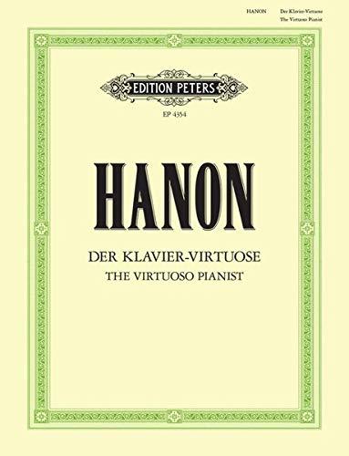 Der Klavier-Virtuose: Neue und durch Ergänzungsübungen erweiterte Ausgabe: Neue und durch Ergänzungsübungen erweiterte Ausgabe (1820-1900) (Grüne Reihe Edition Peters)