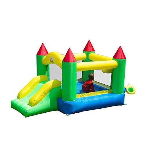 HOMCOM Castillo Hinchable 300x180x160cm Castillos Infantiles Juego Niños de 3 a 10 Años