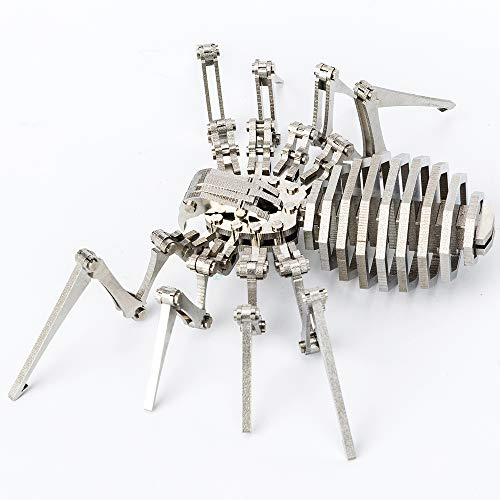 Madsteel Spider 3D Steel Metal Joint Mobility Miniature Model Kits Puzzle Toys Children Educational...
