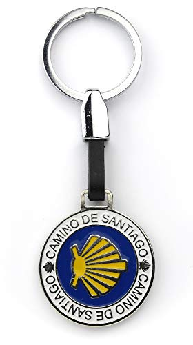 Jakobsweg [Bewahrer] Schlüsselanhänger rund Camino de Santiago