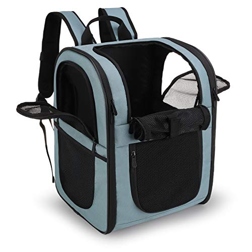 apollo walker Pet Carrier Backpack for Small Cats and Dogs, Puppies, Two-Sided...