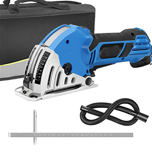 Mini circular Sierra eléctrica, 500W 220V DIY eléctrica de múltiples funciones de...