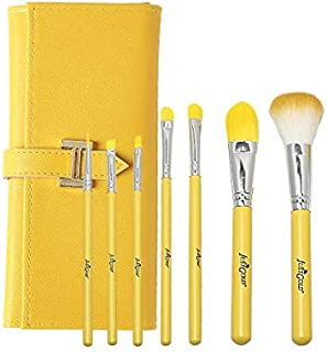 Just Gold 7 Pieces Brush Set - Yellow, JG-9300, Pack of 1