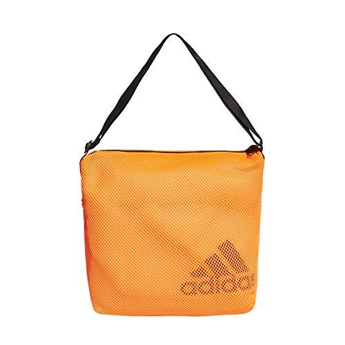 adidas Damen W ST Easy Shop Umhängetasche, Orange/Schwarz (Mehrfarbig), Einheitsgröße