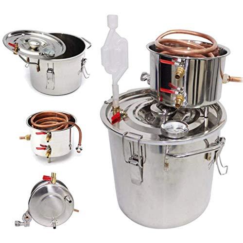 JIXIN Gärtank, Edelstahl Und Kupfer,3 gallons