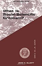 WHAT IS SOCIAL SCIENTIFIC CRITICISM? (Guides to Biblical Scholarship New Testament Series)