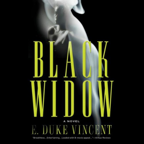 Black Widow audiobook cover art
