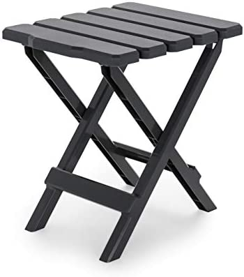Camco Adirondack Portable Outdoor Folding Side Table Perfect for The Beach Camping Picnics Cookouts product image