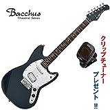 ワンランク上のエントリー・モデル|Bacchus BMS-SH/R MAB (マリンブルー) バッカス・ムスタングタイプ|クリップチューナー・プレゼント中!
