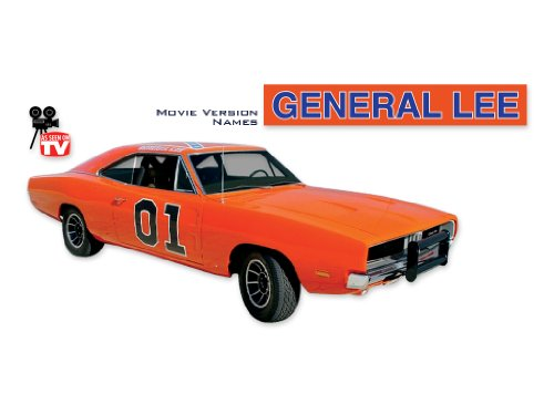 Charger Phoenix Graphix Replacement for 1968 1969 1970 Dodge General Lee Complete Decals & Stripes Kit TV Names - Multicolor