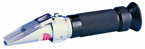 Reed R9500 Brix Refractometer with Automatic Temperature Compensation, 0 to 32 percent Brix Range, +/-0.01 percent Accuracy, 0.1 percent Resolution