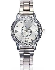 腕時計 レディース Yujiehy 腕時計 女性用 レディース 腕時計 大気 スタイリッシュ レザー クォーツ 可愛い シンプル 人気 アナログ ファッション ビジネス バレンタインデー プレゼント 腕時計 おしゃれ せいこー ソーラー 防水 安い 人気 曜日