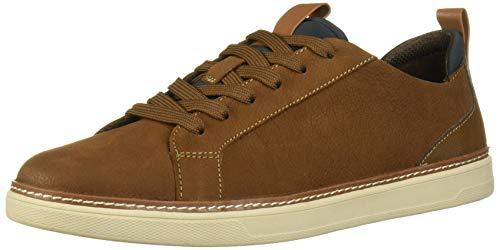 Dr. Scholl's Shoes Men's Execute Sport Sneaker, Brown, 10