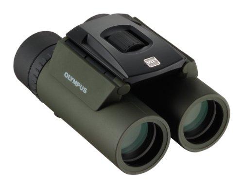 OLYMPUS双眼鏡8x25小型軽量防水グリーン8X25WPIIGRN