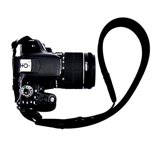 Fotasy Professional Neoprene Neck Strap for DSLR Cameras, Camera Shoulder Belt Strap, Classic Design, Compatible with Canon Fujifilm Nikon Olympus Panasonic Pentax Sony Cameras