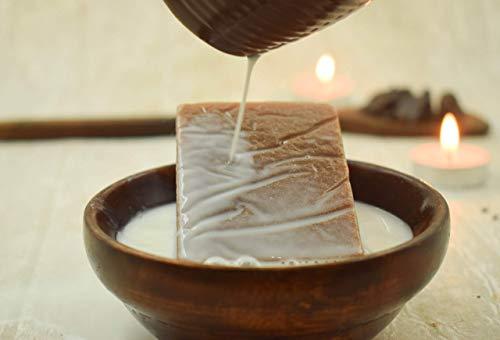 Savon au beurre de fait à la main de SVATV au lait et à la vanille pour tous types de peaux