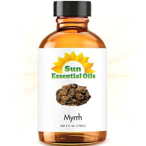 Myrrh Essential Oil (Huge 4oz Bottle) Bulk Myrrh Oil - 4 Ounce