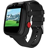 4G Kids Smartwatch – Year 2020 Model – Ready Out of The Box – with Preinstalled SIM Card – Remote Monitoring/Video Call/GPS Tracker (Black)