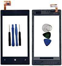 BisLinks Black Digitizer LCD Touch Screen Lens Glass Frame for Nokia Lumia 520 + Tools