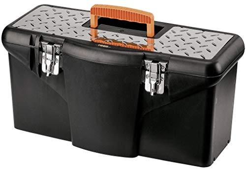 Tec Hit 304040 caja de herramientas De plástico 18', Negro