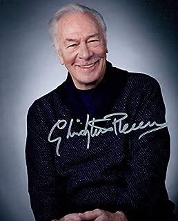 Christopher Plummer signed 8x10 photo
