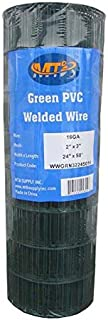 MTB Green PVC Welded Wire Mesh Garden Economy Fence 24