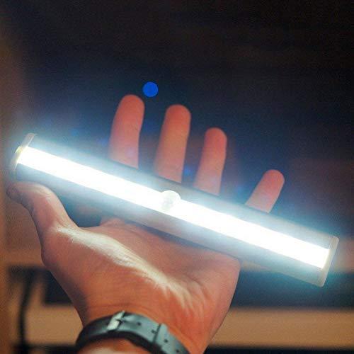 GKJRKGVF 10 LED kledingkast licht PIR bewegingsmelder helder nachtlampje home slaapkamer kast kledingkast lade lamp kast kast licht