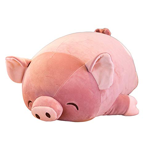 MINI Boutique-Schweinchen, Plüsch-Spielzeug, Cartoon-Schwein, Schlafend, Stofftiere, Hausdekoration, Geschenk für Kinder, Schwein, 60 cm