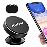 Mpow Upgraded Magnetic Car Phone Holder,Dashboard Car Phone Mount,Mini Magnetic Stylish Metal Phone