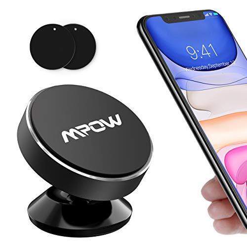 Mpow Support magnétique pour téléphone de Voiture, Tableau de Bord, Mini Support magnétique en métal pour iPhone